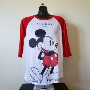 Mickey Mouse Baseball Tee
